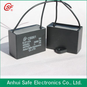 Cbb61 35UF 450VAC Sh Capacitor for Fan AC Motor Start pictures & photos