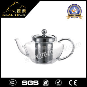 Borosilicate Glass Coffee Maker Teapot with Lid Infuser