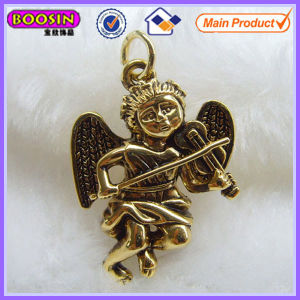 Fashion Design Gold Plated Metal Baby Angels Charms #18367 pictures & photos