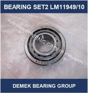 Auto Inch Taper Roller Bearing Set2 Lm11949/10 in Stock pictures & photos