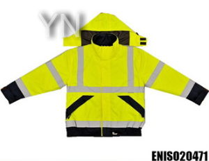 Yellow Reflective Jacket for Work pictures & photos