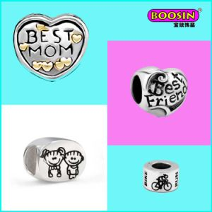 2015 Fashion Custom Lovely Silver Bracelet Charms Wholesale for Girls pictures & photos