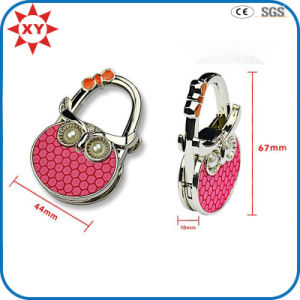 Cute Owl Shape Folding Purse Hanger pictures & photos