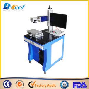 Factory Sale CNC 30W Metal Sheet Fiber Laser Marking Machine pictures & photos