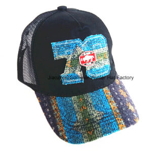 Constructed Joint Embroidery Brushed Cotton Twill Baseball Cap pictures & photos