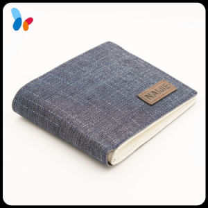 Blue Denim Canvas Wallet Fashion Hand Wallet for Women pictures & photos