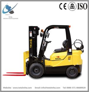 1.8 Ton Gasoline and LPG Forklift with Nissan K21 Engine pictures & photos