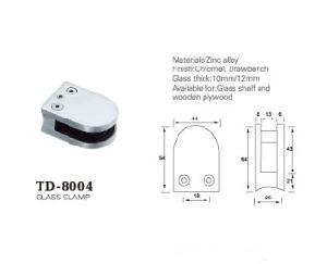 High Quality Casting Stainless Steel Glass Clamp (TD-8004) pictures & photos