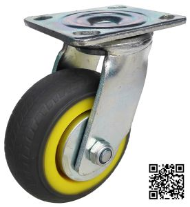Heavy Duty Grey TPR Caster (Swivel) pictures & photos