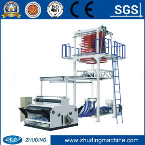 New Machine Two Color Film Blowing Machine (SJ-45D) pictures & photos