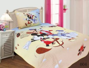 Children Patchwork Mickey Mouse Bedding Set 2PCS pictures & photos