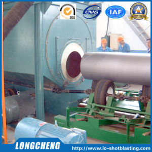 Conveying Type Steel Pipe Abrator for Rust Removing