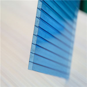 10mm Twin Wall Hollow Polycarbonate Sheet pictures & photos
