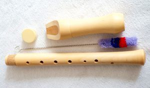 Baroque 8-Holes Maple Wood Soprano Flute Recorder pictures & photos