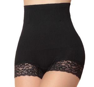 Hot Sale High Waist Women Nylon Lace Slimming Bodyshaper Underwear pictures & photos