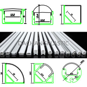 Frosted Acrylic or Polycarbonate Diffuser for LED Aluminum Profile Alp001r pictures & photos