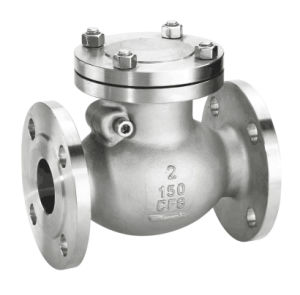 Cast Steel Flange Swing Type Check Valve pictures & photos