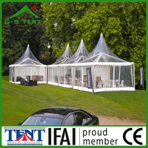 Clear Metal Party Gazebo Pagodas Marquee Shelter Tent