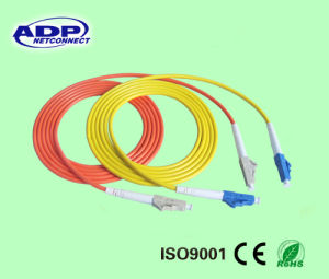 Top-Selling Sm /mm Fiber Patch Cord with LC /Sc/FC/St Connector pictures & photos
