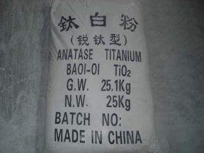 Rutile and Anatase TiO2 Titanium Dioxide