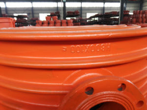 Pipe Hot Tapping Saddle H800X100, Branch Saddle for Cast Iron Pipe, Ductile Iron Pipe pictures & photos