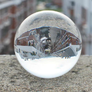 40mm 50mm 60mm Top Clear Glass Crystal Sphere Ball with Various Size pictures & photos
