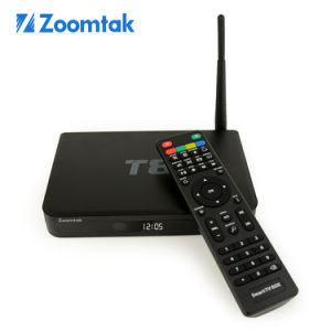 Zoomtak Android TV Box T8 with Full 1080P HD Quad Core pictures & photos