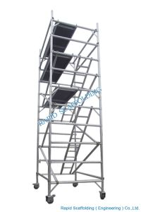 Mobile Aluminum Scaffold Tower Made in China pictures & photos