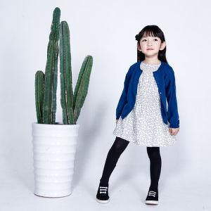 100% Cotton Children′s Apparel Flower Girl Dress pictures & photos