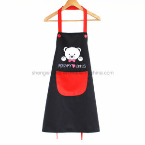 100% Cotton Kitchen Apron with Logo Printing
