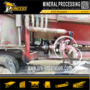Mining Mobile Gold Processing Alluvial Gold Ore Washing Plant Trommel pictures & photos