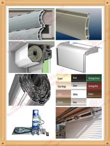 Heavy Duty Aluminum Roller Shutter Door (BH-SD01) pictures & photos