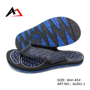 Leisure Shoes Summer Cheap Comfort Slipper for Men (AL001-1) pictures & photos