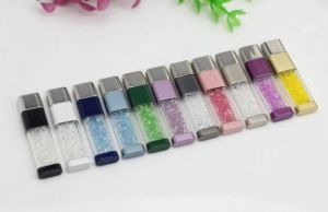 Luxury Crystal USB Flash with Colorfull Diamond for Shinny LED Light USB Flash Drive pictures & photos