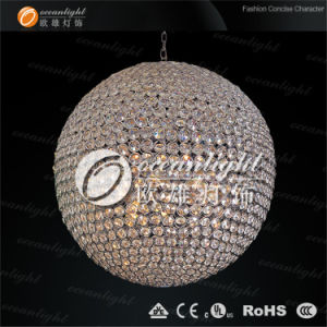 Clear Ball Chandelier Crystal Globe Pendant Lamp Om690 pictures & photos