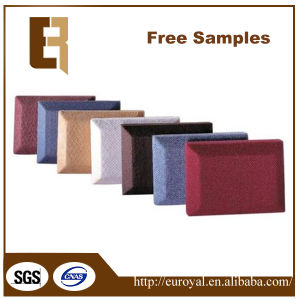 Eco-Friendly Decorative Acoustic Clothing Soundproof Fabric Wall Panel