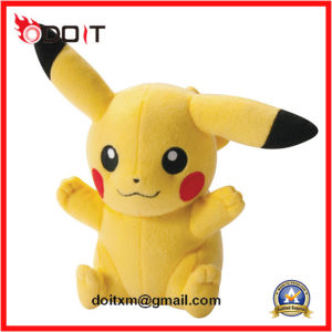 Customized Yellow Pokemon Soft Baby Stuffed Animal Plush Toys Wholesale pictures & photos