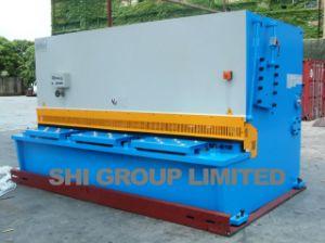 Hydraulic Swing Beam Shearing Machine QC12k-16*4000 Touch Screen ID