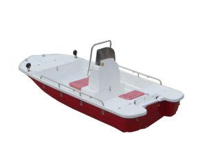 Aqualand 13feet Fiberglass Fishing Boat /Sports Rib Motor Boat (130) pictures & photos