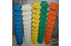 Plastic Chain Link Fence for Sale pictures & photos