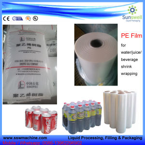 Plastic Film for Shrink Wrapping pictures & photos