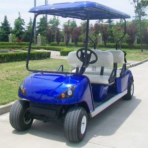 Ce Approve All Colors 4 Seater Electric Golf Car (DG-C4) pictures & photos