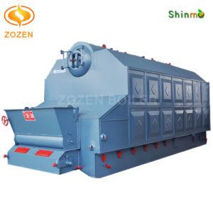 Dual Drums Water Tube Coal Steam Heater