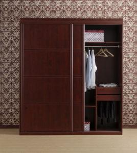 Sliding Door Wooden Bedroom Closet