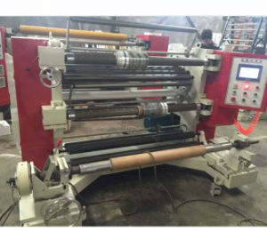 Vertical Type Slitting and Rewinding Machine of Paper Slitting Machine pictures & photos