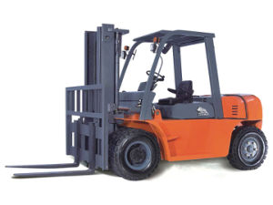 5.0 Ton Diesel Forklift Truck with CE Standard pictures & photos