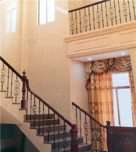 Beautiful Simplicity of Classical European Wrought Iron Handrail pictures & photos