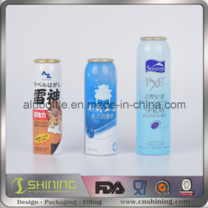 Aerosol Cans for Cosmetic