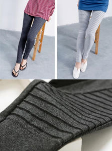 2015 Autumn Cotton Slim Pleated Leggings Wholesale pictures & photos