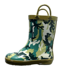 Kid′s Handle Rain Boots pictures & photos